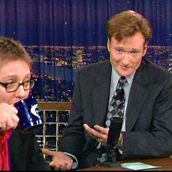 Spader on 'Late Night with Conan O'Brien from Sept. 30, 2004.
