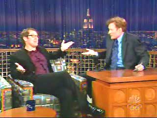 James Spader on Late Night with Conan O'Brien Feb. 19, 2004