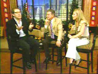 James Spader on Live with Regis and Kelly