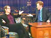 "Watch James Spader on ""Late Night with Conan O'Brien"""